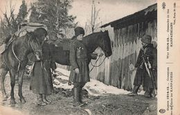 Guerre 1914 15 Cosaques Dans Les Karpathes Cosaque 46eme Serie , Cpa Guerre 1914 1918 - Oorlog 1914-18