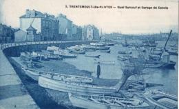 7. - TRENTEMOULT-lès-NANTES. -  Quai Surcouf Et Garage De Canots. ANIME. A Circulé En 1930. ETAT NEUF. SCANS - Other Municipalities