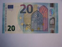 20 Euro Spain V V001A1 Draghi UNC - 20 Euro