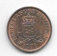 *netherlands Antilles 1 Cent 1971   Km 8  Unc /ms63 - Antillen (Niederländische)