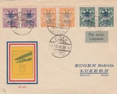 Latvia Cover 1928 - Lettonie