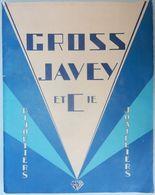 RARE CATALOGUE CROSS JAVEY 1925 ART DÉCO BIJOUTIERS JOAILLIERS PARIS BIJOUX - Fashion