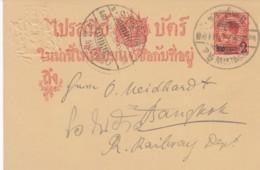 Thailand Postcard 1908 - Thaïlande