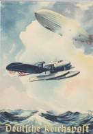 Deutsches Reich Schmuck Telegramm Propaganda 1939 - Allemagne