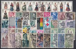 ESPAÑA 1969 Nº 1898/1948 AÑO COMPLETO CON TRAJES USADO 51 SELLOS - Full Years