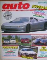 AUTO - N.11 - NOVEMBRE 1988 - ANNO IV - BMW 320 TOURING - LANCIA THEMA - MASERATI 222 - Moteurs