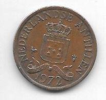 *netherlands Antilles 1 Cent 1972   Km 8   Xf - Antillen (Niederländische)