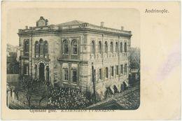 EDIRNE  Andrinople  — Gymnase Grec - Turkey - Turquie - Turquia