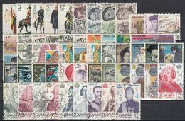 ESPAÑA 1978 Nº 2451/2507 AÑO COMPLETO CON TRAJES USADO 57 SELLOS - Full Years