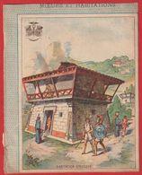 Protége Cahier Ancien Fin XIXéme Collection Moeurs Et Habitations   ETRUSQUE - Schutzumschläge