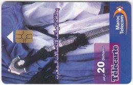 MAROC A-084 Chip Telecom - Traditional Craft - MINT - Maroc