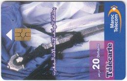 MAROC A-088 Chip Telecom - Traditional Craft - Used - Maroc