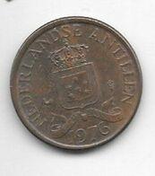 *netherlands Antilles 1 Cent 1976   Km 8   Xf+/ms60 - Antillen (Niederländische)