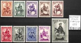 NB - [847194]TB//*/Mh-Belgique 1941 - N° 583/92, St-Martin, SC */mh Propre - Belgium