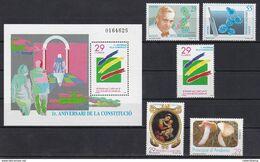 ANDORRA ESPAÑOLA 1994 - Año Completo Sellos Nuevos Sin Fijasellos - MNH - - Ungebraucht