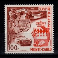 Monaco - YV 441 N** 26eme Rallye Cote 36 Euros - Nuovi