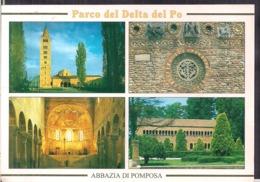 C. Postale - Parco Del Delta Del Po - Veduta Del Complesso Pomposiano - Circa 1970 - Non Circulee - A1RR2 - Ferrara