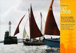BREST 2008 Rassemblement Bateaux  (Vieux Gréement - Old Sailing Boat Or Fishing Ship) - Voiliers