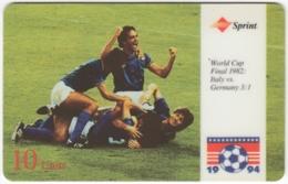 USA C-878 Prepaid Sprint - Event, Sport, Soccer, World Cup - Used - Vereinigte Staaten