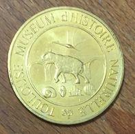 31 TOULOUSE MUSÉE D'HISTOIRE NATURELLE ÉLÉPHANT MÉDAILLES ET PATRIMOINE 2009 JETON TOURISTIQUE MEDALS TOKENS COINS - Otros
