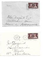 GB 1937  To Aberdeen - Cartas