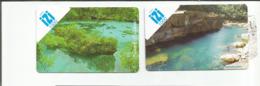 2 Recharges  IZI   1000cfp    Paysage    (burea) - Nouvelle-Calédonie