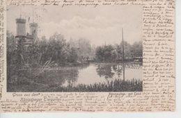 CPA  Précurseur Russie - (Kaliningrad) Königsberg - Gruss Aus Dem Königsberger Tiergarten - Bärenzwinge Mit Teich - Russie