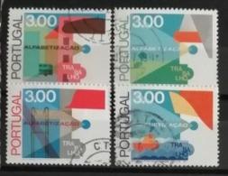 Portugal 1976 / Yvert N°1302-1305 Dentelé 12 / Used - 1910-... Republik