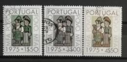 Portugal 1975 / Yvert N°1252-1254 / Used - 1910-... Republik