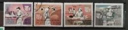 Portugal 1975 / Yvert N°1281-1284 / Used - 1910-... Republik