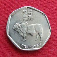 Botswana 25 Thebe 1999 KM# 28 Botsuana - Botswana