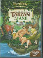 Dvd La Legende De Tarzan Et Jane - Animation