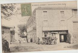 Saint-Romain-Lacalm  43   910m  L'Hotel Duplay_Rue Bien Animée - Frankreich