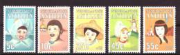 Nederlandse Antillen / Dutch Antilles 817 T/m 821 MNH ** (1985) - Curazao, Antillas Holandesas, Aruba