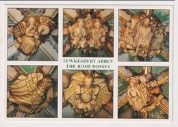 ENGLAND  - AK 383638 Tewkesbury Abbey - The Roof Bosses - Inglaterra