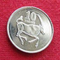 Botswana 10 Thebe 2002 KM# 27 *V2 Botsuana - Botswana
