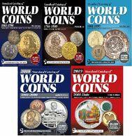 Catalogues Des Monnaies KRAUSE Standard Catalog Of World Coins 5 CATALOGS  LIVRAISON GRATUITE FREE SHIPPING - Livres & Logiciels
