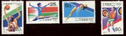 CHINA  PRC - 1992-8 Olympic Games Barcelona. Mint Never Hinged. MICHEL #2430/2433 - 1949 - ... République Populaire