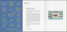 "Bund Europe: Minister Card - Ministerkarte, Mi-Nr. 3545, Bl. 86 ESST: "" Europa 2020: - Historische Postwege - ""      X - Covers & Documents"