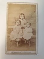 Cdv Exposition Universelle 1867. Photographe P. Munier. Portraits D Enfants - Alte (vor 1900)