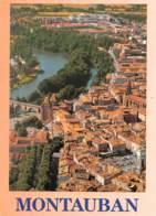 82 MONTAUBAN  Vue Générale Aérienne De La Ville Traversée Par Le Tarn  2 (scan Recto Verso)KEVREN0736 - Montauban