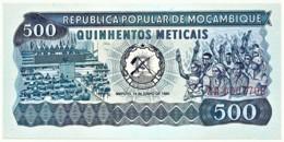 Mozambique - 500 Meticais - 16.06.1980 - Unc. - P 127 - Serie AA - Mozambique