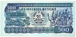 Mozambique - 500 Meticais - 16.06.1983 - Unc. - P 131.a - Serie AC - Mozambique