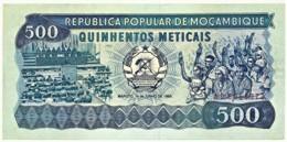 Mozambique - 500 Meticais - 16.06.1983 - P 131.a - Serie AC - Mozambique