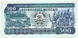Mozambique - 500 Meticais - 16.06.1986 - Unc. - P 131.b - Serie AD - Mozambique