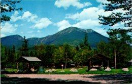 Maine Baxter Park Mt Katahdin From Katahdin Campsite - Etats-Unis