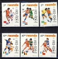 Rwanda - 1275/1280 - Coupe Du Monde Maxico - 1986 - MNH - Rwanda