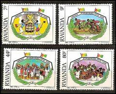 Rwanda - 1249/1252 - Année Internationale De La Jeunesse - 1985 - MNH - Rwanda