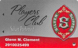 Silver Slipper Casino - Lakeshore, MS - Silver Preferred Slot Card (no Expiration Date) - Carte Di Casinò