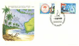 (G 3) Australia - Cocos Island FDC Cover (1979) 3 Covers - Kokosinseln (Keeling Islands)